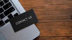 Contact Us Assistance Support Help Concept.