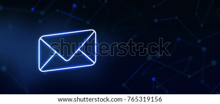 Contact us, email contact, landing page, background, cover page, icon