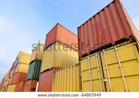 Container area in close up, u can see more detail of its
