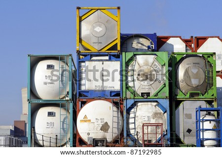 container for transport