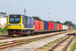 Container Freight Train