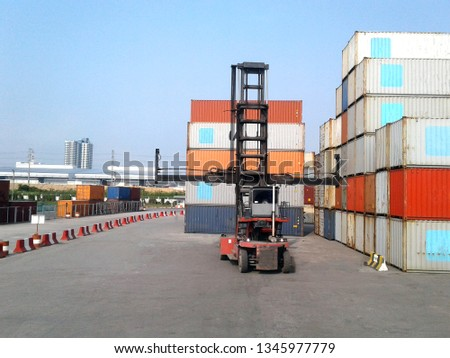 Container handlers from Thailand #1345977779