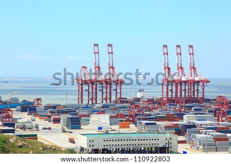 Container port terminal