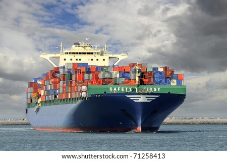 container-ship
