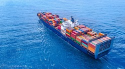 Container Ship Vessel Cargo Carrier