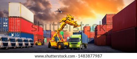Container shipping for trucks for export and import, Logistics in Asia Container shipping for trucks for export and import
