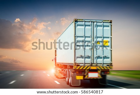 container truck #586540817