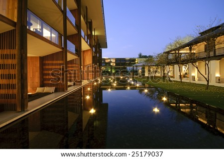 Contemporary Architecture on Contemporary Architecture And Landscape Stock Photo 25179037