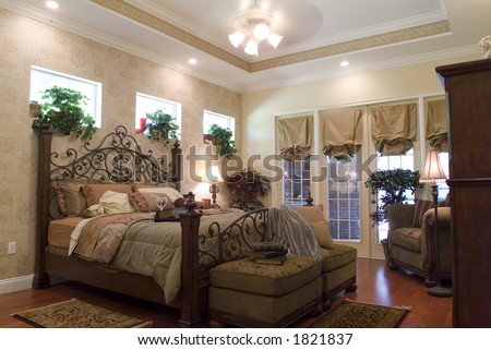 Contemporary bedroom home interior design lifestyle