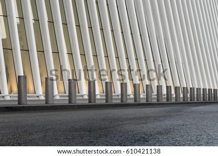 contemporary building exterior #610421138