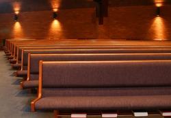 Contemporary Church Pews