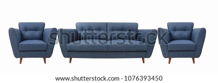 contemporary design sofa set #1076393450