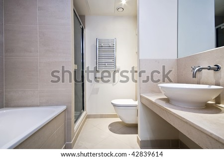 Brilliant  Toronto Now Stock Photo Light Brown Bathroom Tiles With Flower