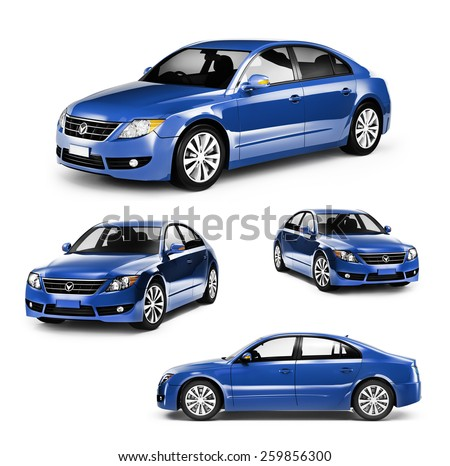 Contemporary Shiny Luxury Transportation Performance Concept #259856300