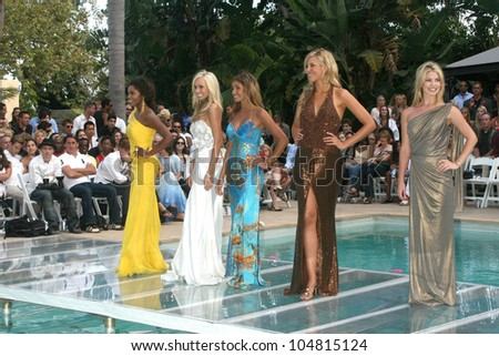 Contestants  at the 5th Annual Miss Malibu Pageant. Private Residence, Malibu, CA. 08-23-09