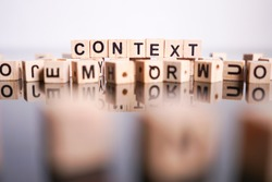 Context word cube on reflection