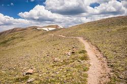 Continental Divide Trail in Colorado