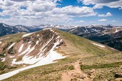 Continental Divider Trail in Colorado, USA