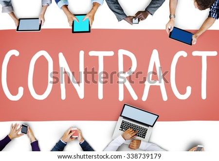 Free Contract Deal Commitment Agreement Analysis Value Concept