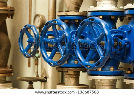 Control knobs for water pipes