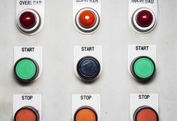 Control panel Control panel in laboratory
