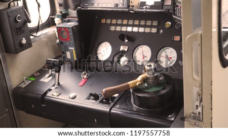 Control panel systems of japan train #1197557758