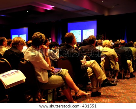 Convention *best for web use - stock photo