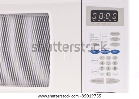 Conventional Microwave Key Pad