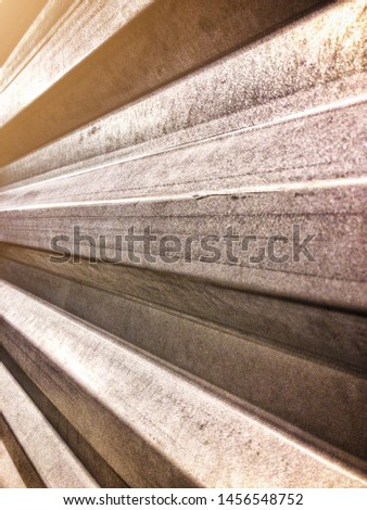 Converging lines from a piece of corrugated steel. #1456548752