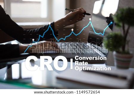 Conversion rate optimization, CRO concept and lead generation. #1149572654