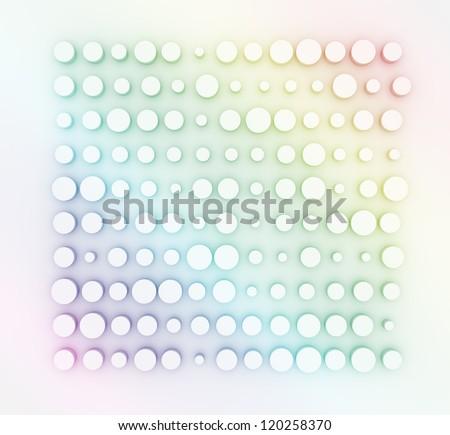 convex rainbow - design template