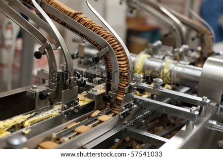 Conveyor - stock photo