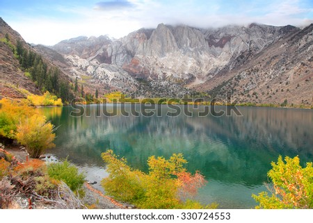 convict lake is scenic...