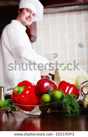 Cook and other food ingredient and foodstuf