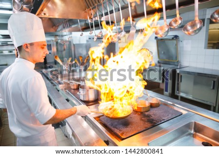 cook cooks in a restaurant #1442800841