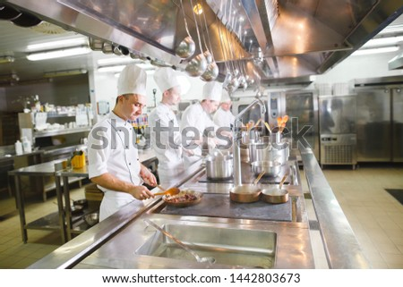 cook cooks in a restaurant #1442803673