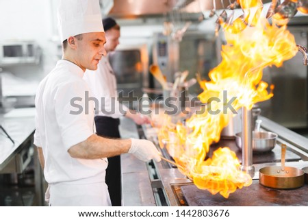 cook cooks in a restaurant #1442803676