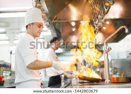 cook cooks in a restaurant #1442803679