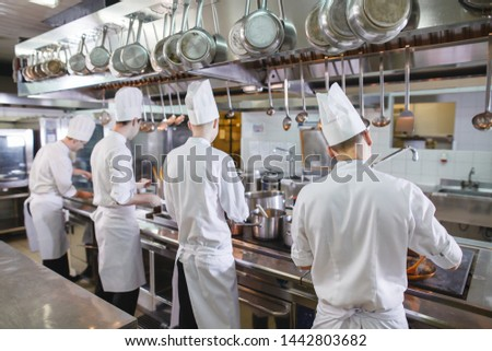 cook cooks in a restaurant #1442803682