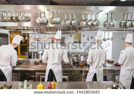cook cooks in a restaurant #1442803685