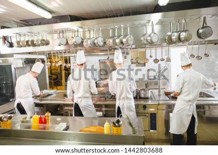 cook cooks in a restaurant #1442803688