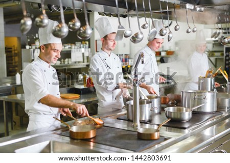 cook cooks in a restaurant #1442803691