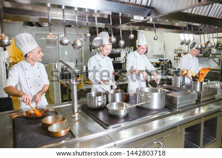 cook cooks in a restaurant #1442803718
