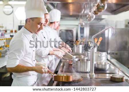 cook cooks in a restaurant #1442803727