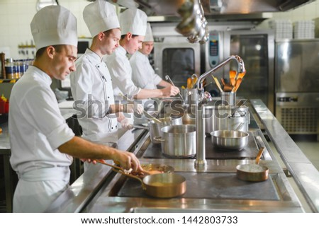 cook cooks in a restaurant #1442803733