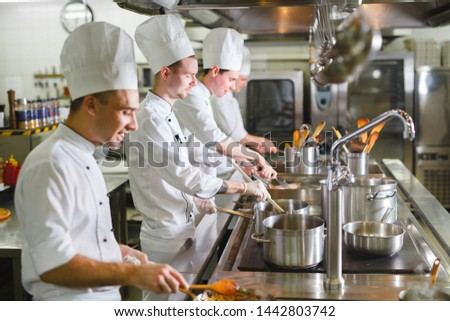 cook cooks in a restaurant #1442803742