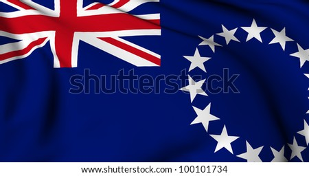 Cook Islands flag World flags Collection