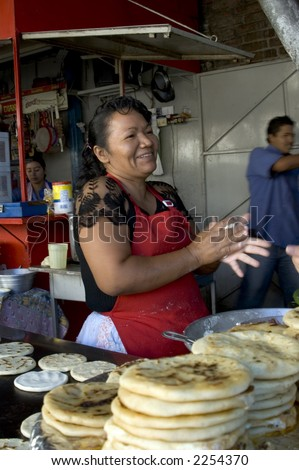 cook native restaurant pupuseria san salvador el salvador cooking pupusa