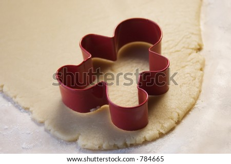 Cookie Cutter and Cookie Dough