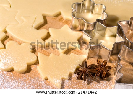Cookie cutter forms